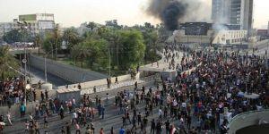 Irak'ta protestolara sert müdahale: 3 ölü