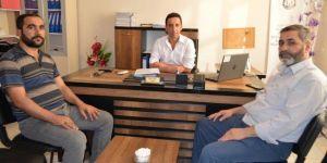 HÜDA PAR Hilvan İlçe Başkanı Göçmen eğitim kurumlarını ziyaret etti