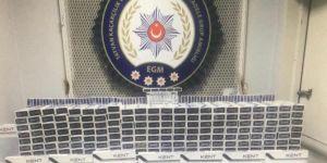 46 bin paket gümrük kaçağı sigara ele geçirildi