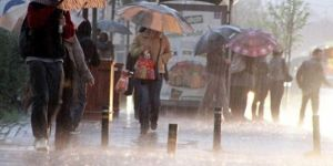 Meteorolojîyê hişyarîya barana zêde û bayê dijwar kir