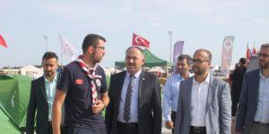 HÜDA PAR heyeti Etnospor Kültür Festivali'ne katıldı