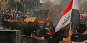 Protests and clashes in Iraq spill over into Sadr region