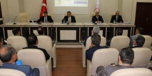 Bingöl'de koordinasyon toplantısı yapıldı