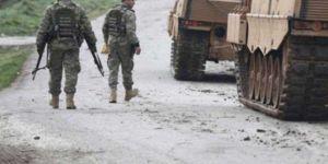 Azez'de 5 asker yaralandı