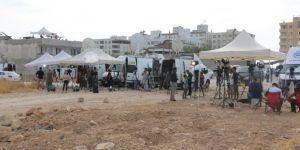 Akçakale'de harekâtı takip eden basın mensuplarının yeri değiştirildi