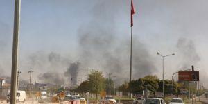 Tel Abyat'ta PKK-YPG-PYD hedefleri gün boyu vuruldu