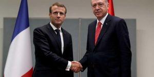 Erdogan bi Macron re hevdîtin kir