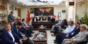 AK Parti Şanlıurfa İl Başkanlığından Hilvan Belediyesi'ne ziyaret