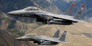 U.S fighter jets bomb munitions storage bunker left behind in Syria