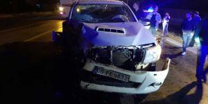 Bitlis'te trafik kazası: 2 yaralı