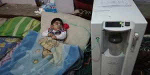 Kızılay Suriyeli ailenin derdine derman oldu