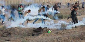İşgalci siyonistler göstericilere saldırdı