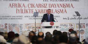 Cumhurbaşkanı Erdoğan: Afrika'da yarası sarılmadık gönül bırakmıyoruz