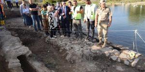 Erzen Antik Kenti'nde kazı çalışmaları devam ediyor
