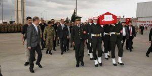 Tel Abyad'da hayatını kaybeden asker memleketine uğurlandı