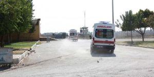 Tel Abyad'da askeri aracın geçişi sırasında patlama