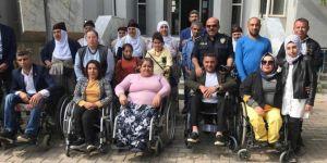 Engellilerden HDP'li belediyeye tepki yürüyüşü