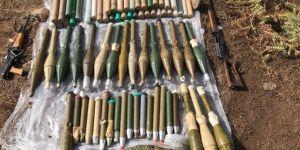 PKK'ye ait silah ve lojistik malzemelerinin depolandığı sığınak bulundu