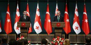 Cumhurbaşkanı Erdoğan: Gürcistan'la ticaret hacmimizi 3 milyar dolara çıkaracağız