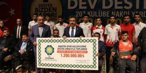 DBB'den amatör spor kulüplerine nakdi destek