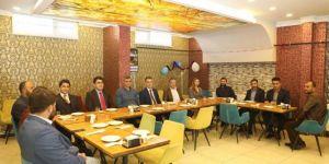 Bitlis Valisi Çağatay basın mensuplarıyla bir araya geldi
