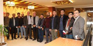 Mardin Artuklu Belediye Başkanı Tutaşı basınla bir araya geldi