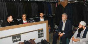 HÜDA PAR Şanlıurfa İl Başkanlığı Akçakale esnafını ziyaret etti