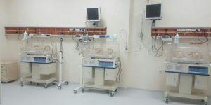 Kozluk Devlet Hastanesi'nde yeni doğan ünitesi açıldı