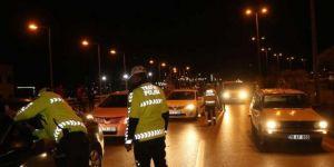 Gaziantep'te trafik kurallarını ihlal eden sürücülere cezai işlem
