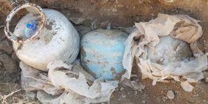 Van'da patlayıcılarla tuzaklanmış tüpler ele geçirildi