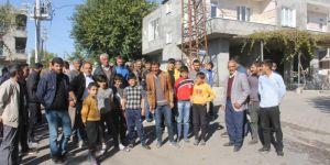 Bismil'de elektrik sayaçlarının direklere çıkarılması gerginliğe neden oldu