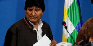 Morales Bolivya'dan ayrıldı