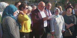 Antalya Adliyesi önünde İstanbul Sözleşmesi'ne tepki