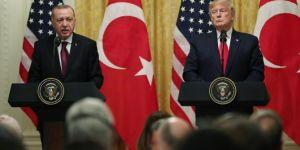 Cumhurbaşkanı Erdoğan ile Trump ortak basın toplantısında konuşuyor