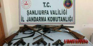 Şanlıurfa'da silah kaçakçıları operasyonunda 4 gözaltı