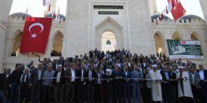 Şanlıurfa 11 Nisan Camii dualarla ibadete açıldı