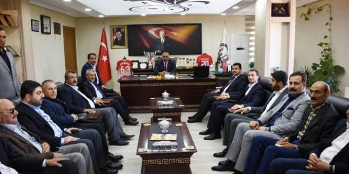 Orhan Karasayar'dan Aslan Ali Bayık'a ziyaret