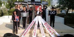 Mustafa Kemal'in heykeli önünde yapılanlar ritüel denemesi