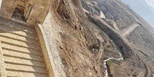 Hasankeyf'teki tarihi kapının restorasyon çalışmaları tamamlandı
