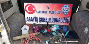 Van'da 11 hırsızlık olayının şüphelileri yakalandı