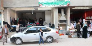 Umut Kervanından muhtaç aileler yararına kermes