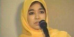 """A video of Aafia Siddiqui speaking on """"Women in Islam"""" released"""