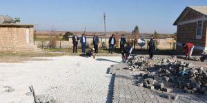 Hilvan'da okullarda çevre düzenlemesi ve temizlik hizmetleri devam edecek