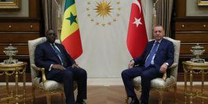 Turkish President Erdoğan meets with President Sall of Senegal