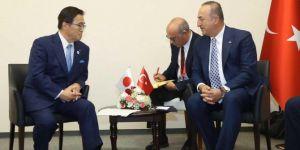 Turkish Foreign Minister Mevlüt Çavuşoğlu in Japan