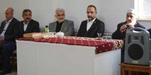 HÜDA PAR Genel Başkanı Sağlam, Şahin ailesinin taziyesine katıldı