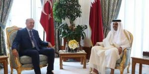 Erdoğan meets with Qatar Emir Sheikh Tamim
