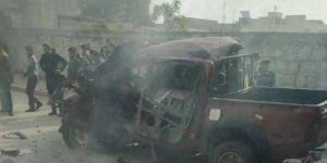 Car bomb kills two civilians in Azaz