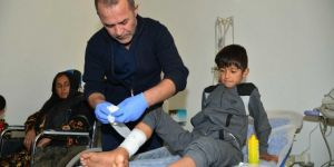 The hospital reopened in Tel Abyad