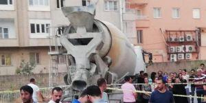 Nusaybin'de beton mikserinin çarptığı çocuk öldü